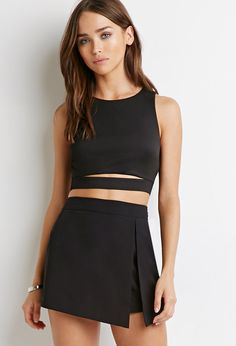 outfit crop top y falda, outfit crop top und falda, vestito crop top y falda, tenue de culture top y falda 08 Mon 2019 The post Outfit Crop Top Y Falda Outfit Crop Top Und Falda Vestito Crop Top Y Falda appeared first on Accessoires. Crop Top Outfits, Skirt Outfits, Casual Outfits, Cute Outfits, Black Crop Top Outfit, Dress Black, Crop Top Elegante, Crop Top Set, Crop Top With Skirt
