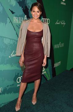 Chrissy Teigen At an event in Beverly Hills.   - ELLE.com