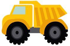 53 Ideas for dump truck clipart construction Construction Birthday Parties, Construction Theme, 3rd Birthday Parties, Boy Birthday, Birthday Crafts, Birthday Cartoon, Birthday Ideas, Benne, Toys