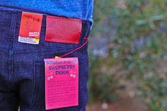 Scratch N' Sniff Jeans (http://www.nakedandfamousdenim.com/blog/scratch-n-sniff-raspberry-scented-denim/)