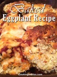 Oven Baked Eggplant Recipe