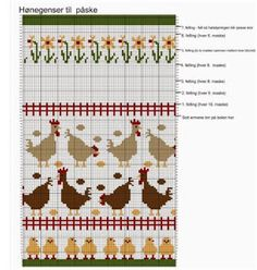 Blomsterdama: Påskestrikk Knitting, Tricot, Breien, Weaving, Stricken, Knits, Cable Knitting, Crocheting, Knitting Projects
