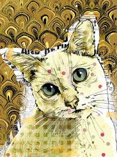 Poppet Cat Iii By Ken Hurd Colors Paintings Ilrations Ilration