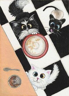 Coucou ... C'est l'heure de notre petit bol de lait ! ! !  (- (page 8) - Blog du PRASMEL)