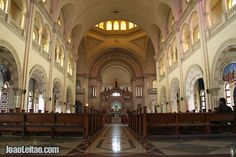 Inside Havana Cathedral