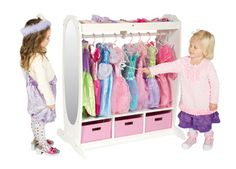 storage for dress up clothes