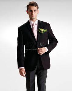 Winter Wedding Notch Lapel Brown Wedding Men Suit £312
