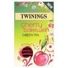 Twinings Green Cherry Bakewell 20 Tea Bags 40G - Groceries - Tesco Groceries