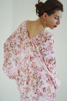 kimono jacket Kimono robe boho Kimono by WildRoseAndSparrow