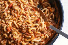 Gluten-Free Beef and Mac