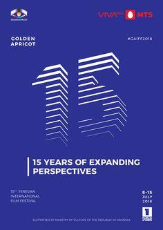 Golden Apricot — Film Festival Identity on Behance Design Poster, Flyer Design, Layout Design, Blend Tool, Anniversary Logo, Brand Guide, Creative Typography, Graphic Design Inspiration, Design Ideas