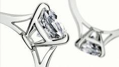 Solitaire 1895 - Platinum, diamond - Fine Engagement Rings for women - Cartier