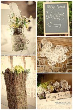 DIY Decor- this is my actual wedding decor !! Homemade 5/14/11