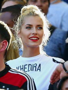 Lena Gercke, girlfriend of Sami Khedira