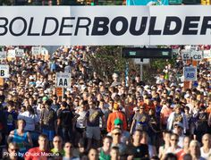 BolderBOULDER 2013 I will finish. It will be my summer baseline. I will improve on that time over the next three months.