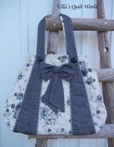 Ulla's Quilt World: Rose bags quilt, PATTERN+TUTORIAL