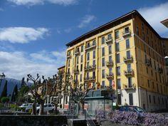 Hotel Grand Britannia Excelsior, Cadenabbia, Lake Como, Italy. by B Waddington