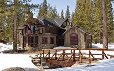 Rustic Mountain Home...