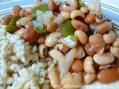 Beans for Dinner (slow cooker, nothing canned)- delicious, healthy, and REAL FOOD- beans may not be a trendy food, but they are SO nutritious. Beans are filled with iron, protein, vitamins and fiber. They are low in cholesterol (in fact they help lower cholesterol!), very low in fat, and very heart -healthy!