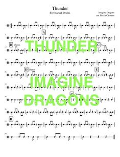 Drum Lessons, Piano Lessons, Teaching Music, Teaching Kids, Bucket Drumming, Middle School Music, Printable Sheet Music, Music Worksheets, Music For Kids