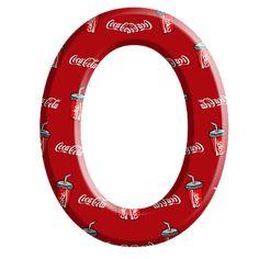 Sussurro de Amor: Alfabeto Coca cola Alphabet Letters, Coke, Drinks, Christmas, Fun, Coca Cola Products, Hush Hush, Necklaces, Amor