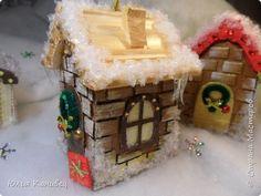 Мастер-класс Поделка изделие Новый год Моделирование конструирование Новогодние домики фото 28