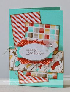 Stampin' Up! Demonstratrice Janneke : So Many Smiles