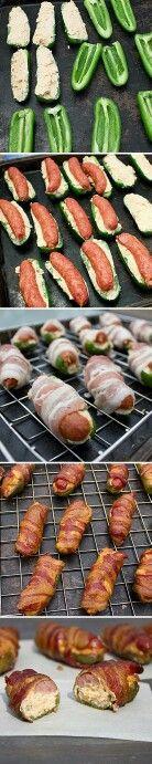 Recette - wrap : saucisse bacon poivron