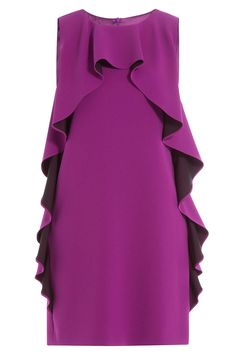 Boutique Moschino - Ruffled Crepe Dress