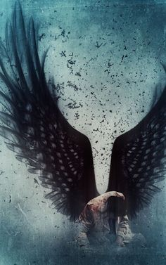 Castiel ~ Supernatural Fan Art ~ This is so beautiful. It always makes me feel so sad for Castiel, gah, so many feels. Supernatural Fans, Supernatural Wallpaper, Supernatural Playlist, Shadowhunters, Ange Demon, Photo Images, Angels And Demons, Fallen Angels, Dark Angels