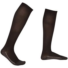 2 Pair EvoNation Mens Copper USA Made Graduated Compression Socks 2030 mmHg Firm Pressure Medical Quality Knee High Orthopedic Support Stockings Hose  Comfort Circulation Travel Large Black ** Click image for more details.Note:It is affiliate link to Amazon.