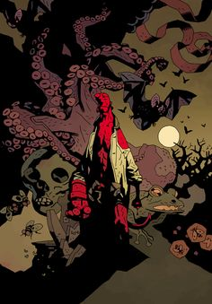 Shop | The Art of Mike Mignola | An Assortment of Horrors