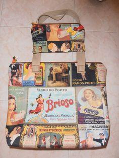 """Conjunto Vintage """"Marcas de Portugal"""" <3"""