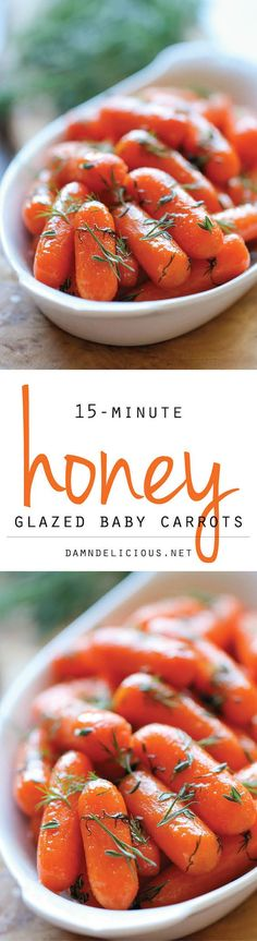 Honey Glazed Baby Carrots Recipe plus 24 more of the most pinned Easter recipes