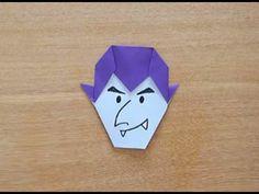 折り紙 Origami・ドラキュラ Dracula - YouTube