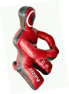 Dummies 179786: Brazilian Grappling Dummy Mma Wrestling Judo Art Leather- Black Red 48 120Cm -> BUY IT NOW ONLY: $84.99 on eBay!