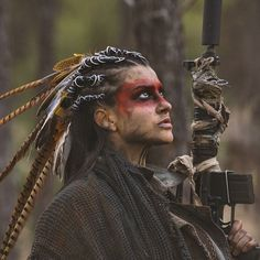 62 Best Ideas For Photography Women Wild Warriors photography 795096509194666227 Warrior Makeup, Tribal Makeup, Tribal Warrior, Warrior Girl, Warrior Women, Post Apocalyptic Fashion, Elfa, Photography Women, Photography Colleges