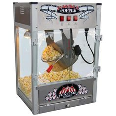 Palace Popper 16 oz Stainless Steel Hot Oil Popcorn Machine >>> Be sure to check out this awesome product.