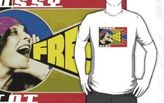FREE PUSSY RIOT PROPAGANDA  T-Shirts, hoodies   $30 click this pin to find more cool t-shirt design