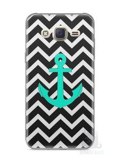 Capa Capinha Samsung J7 Âncora Onda #1 - SmartCases - Acessórios para celulares e tablets :)