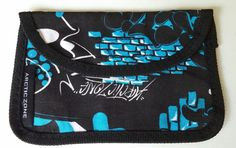 California ARCTIC ZONE Pouch Pack Travel Coin Phone Unisex Graphic Black Blue #ARCTICZONE