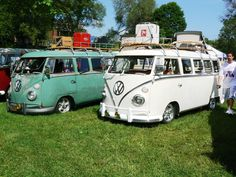 Vintage VW Car Show in Ypsilanti, Michigan. Groovy, baby.