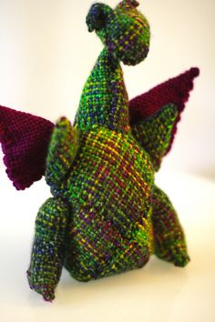 Zoom Loom Critter Kit by DJE Handwovens: Dragon