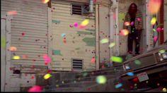 When Sony released 250,000 bouncy balls down a street in San Francisco.