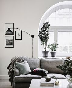 Interiors | Grey & White Swedish Apartment