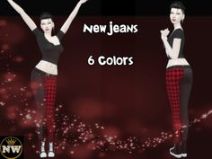 New Jeans by Naddiswelt at TSR • Sims 4 Updates