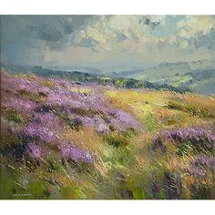 Rex Preston   Heather, Burbage Moor, Derbyshire