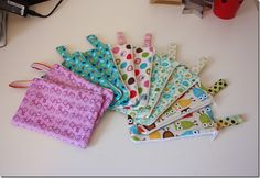 KoolBeenz: Fabric Zipper Pouches - Tutorial