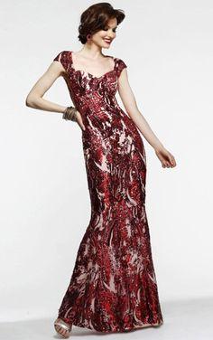 Cheap Sheath Natural Floor-length Tulle Cap Sleeves Bridesmaid Dresses Free Measurement
