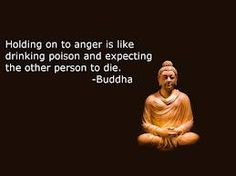 Don't hold on to anger